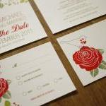Rose Garden - Wedding Invit..