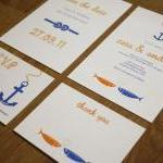 At Sea - Wedding Stationery..