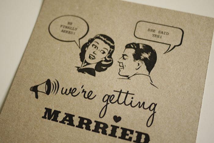 1950's Retro - Wedding Invitation (PRINTABLE)